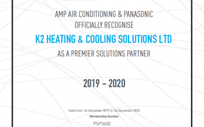 Premier Solutions partnership with AMP Air Conditioning & Panasonic